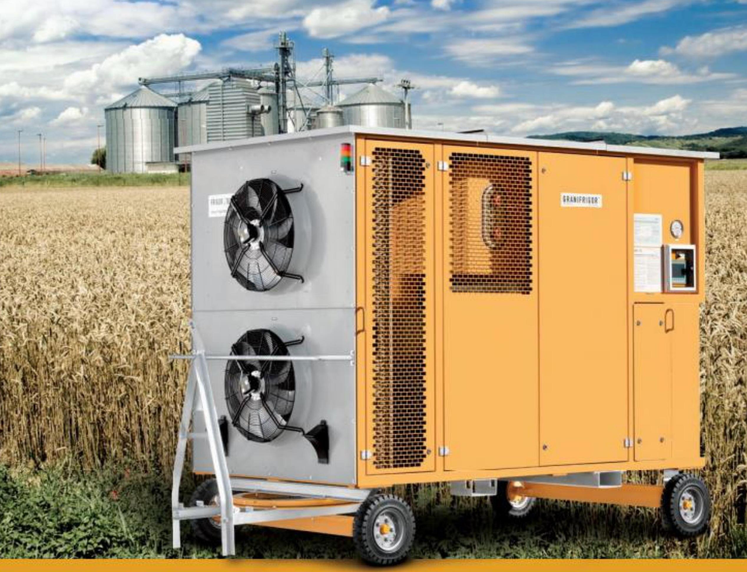 Hợp tác với Frigortec (Đức) đưa công nghệ bảo quản lạnh thóc và ngũ cốc vào Việt nam